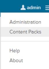 vRLI-Content Packs